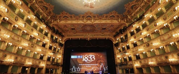 Jaeger-LeCoultre celebra su 180 aniversario en Venecia.
